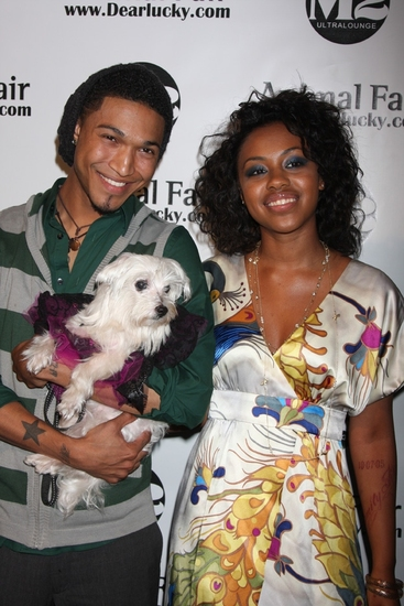 Jamar Rogers (Fox TV's American Idol) and Sasha Allen (Broadway's HAIR)
